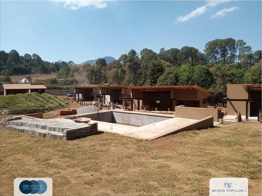 Valle de Bravo - House - For sale - 3 Bedrooms - 2 Bathrooms - 125 m2 - Swimming pool