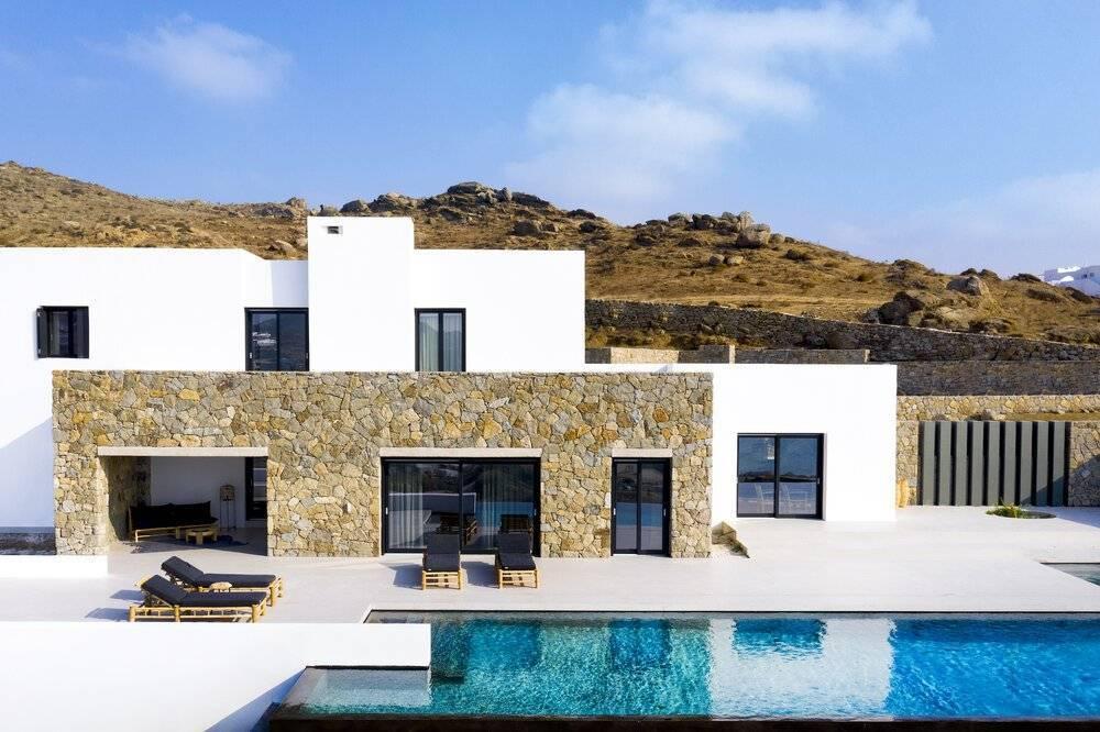 Mykonos - Kalo Livadi - Holiday rental - House - 12 Persons - 6 Bedrooms - 6 Bathrooms - Swimming pool.