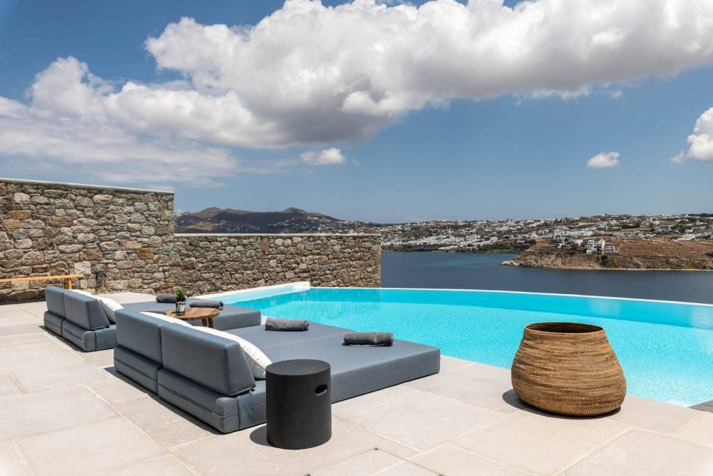 Mykonos - Kanalia - Location saisonnière - Maison - 8 Personnes - 4 Chambres - Piscine.