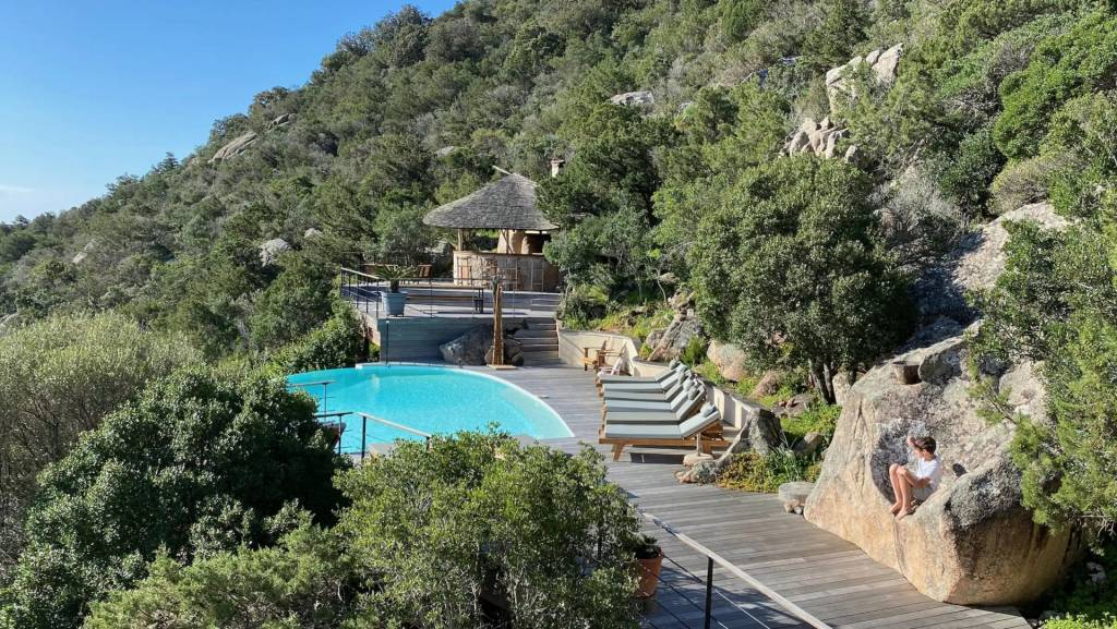 Corsica - Porto Vecchio - Holiday rental - House - 9 Persons - 4 Bedrooms - 4 Bathrooms - Swimming pool.