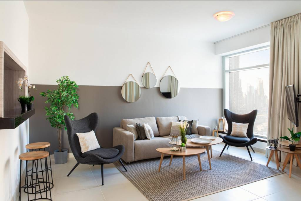 Dubaï - Appartement - Location saisonnière - 5 Personnes - 2 Chambres - Piscine.