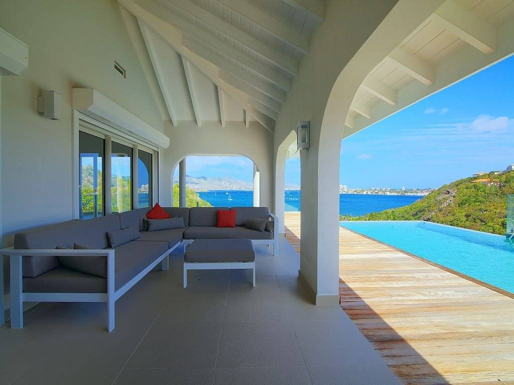 Saint Barthélemy - Caribbean -  House - Holiday rental - 6 Persons - 3 Bedrooms - Infinity pool -  Tropical garden