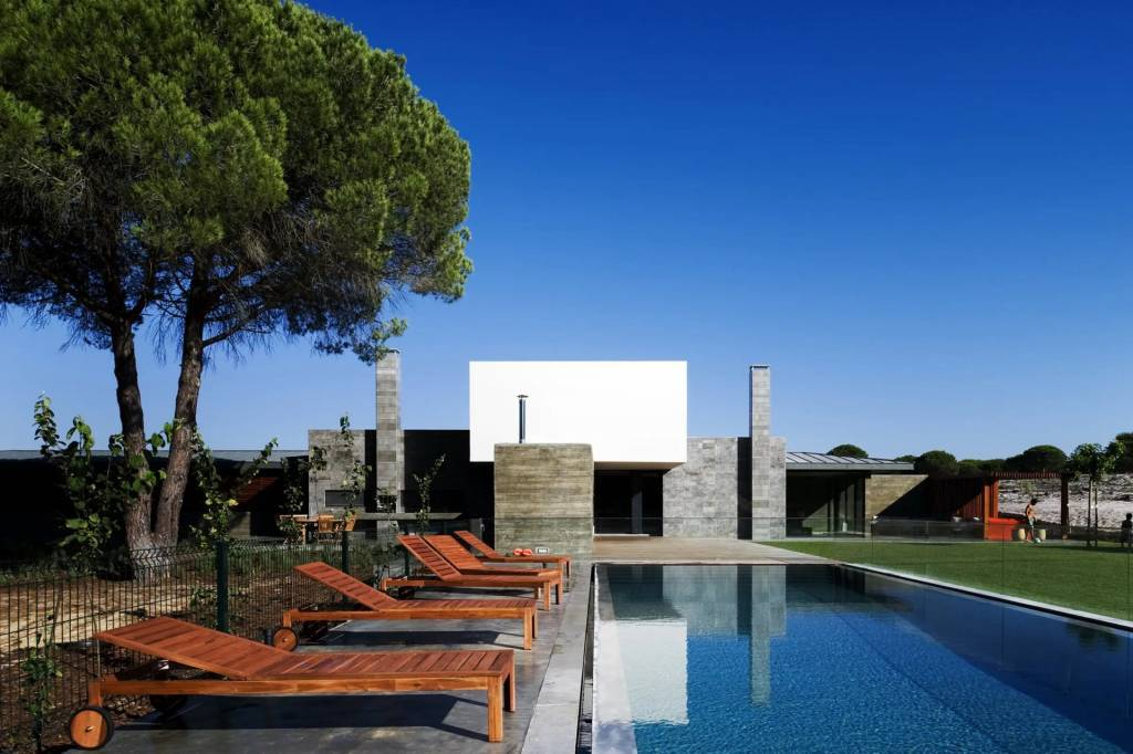 Comporta - House - Holiday rental - 12 Persons - 6 Bedrooms - Natural swimming pool.