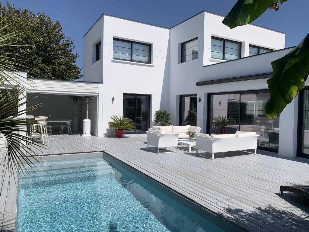 Pyla-sur-Mer - Alquiler vacacional - Casa - 8 Personas - 4 Habitaciones - 2 Baños - Piscina