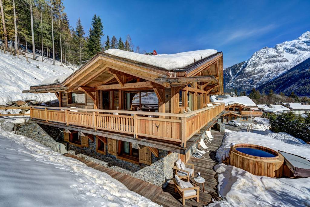 Chamonix - Maison - Location saisonnière - 12 Personnes - 5 Chambres - 5 Salles de bain - Sauna