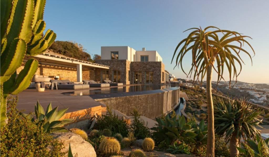 Mykonos - Maison - Location saisonnière - 16 Personnes - 8 Chambres - Piscine.