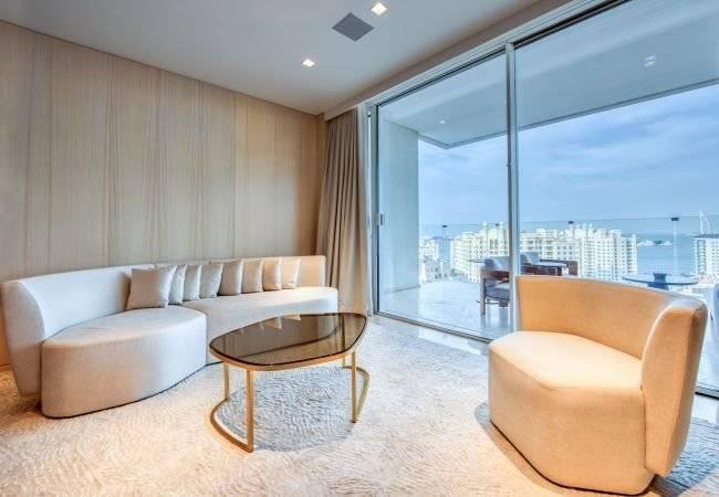 Дубай - Аренда жилья для отдыха - Апартаменты - З человека - 1 Спальня - 1 Ванная комната - 114 м2 - Бассейн