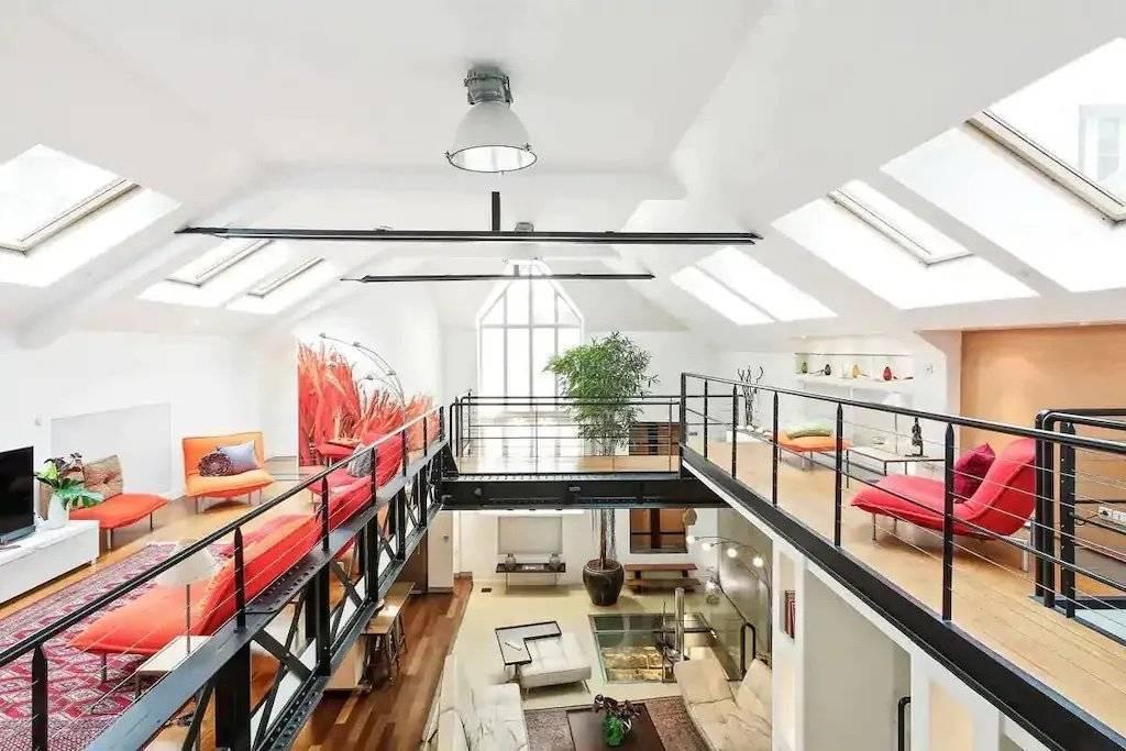 Paris - Montorgueil - A louer - Appartement - Loft - 4 Chambres - 8 Personnes - 4 Salles de bains - 330 m²